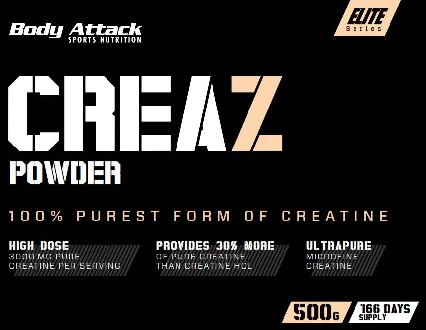 Body Attack CreaZ 500g new