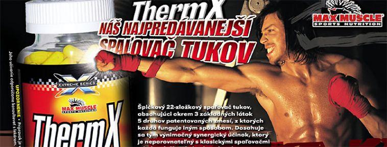 Max Muscle Thermx spalovac tukov na cvicenie do diety 120 kps cena fitplus.sk