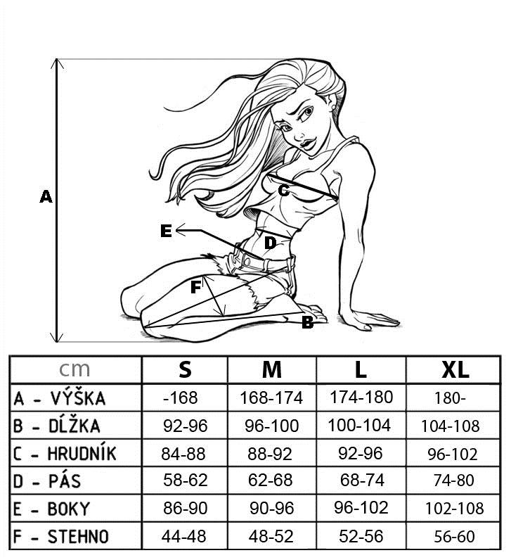 Velkostna tabulka Nebbia