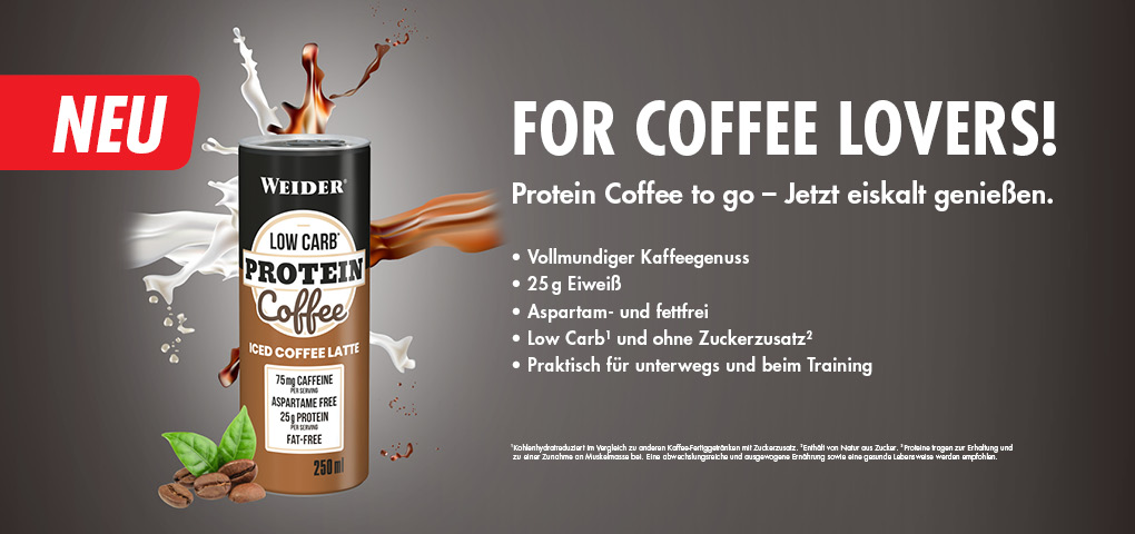 Weider Protein Coffee 250 ml low carb
