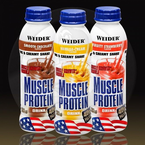 weider MUSCLEPROTEINDRINK hotovy