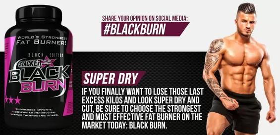 Stacker BlackBurn Fatburner spalovac tuku Stacker2 cena predaj 120 kps