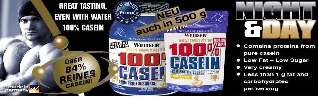 Weider casein 100 protein 1800g