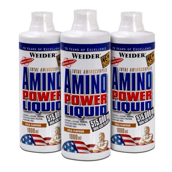 Výsledek obrázku pro Amino Power Liquid 1000ml. - Weider