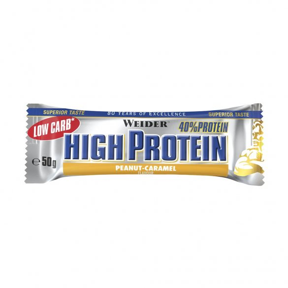 Weider Low Carb High Protein Bar, 50 g chocolate