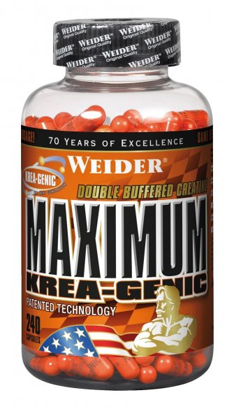 Weider Maximum Krea-Genic, 240 kps