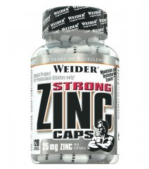 Weider Strong Zinc Caps, 120 kps