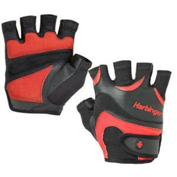Harbinger rukavice FlexFit, pánske, black/red S