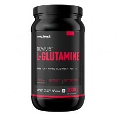 Body Attack 100% Pure L-Glutamine, 1000 g