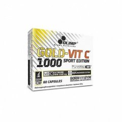 Olimp Gold-Vit C 1000 Sport Edition, 60 kps