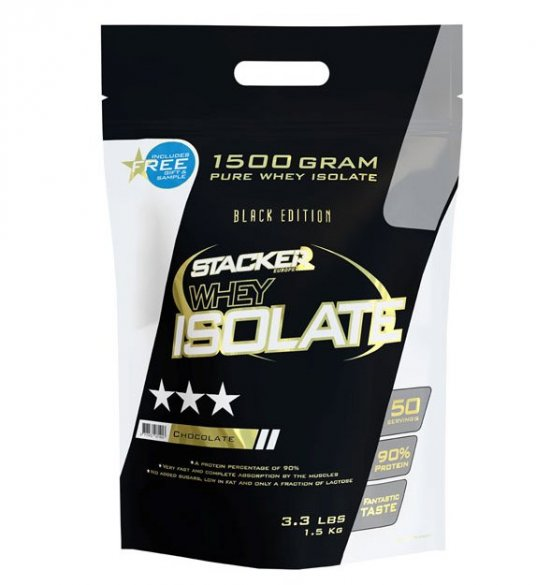 Stacker2 Whey Isolate Protein, 1500 g Banan