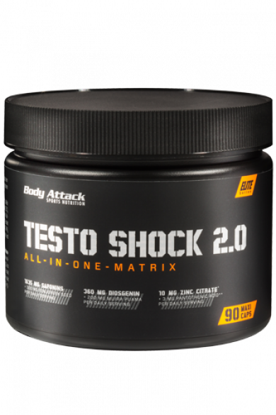 Body Attack Testo Shock 2.0, 90 kps