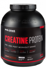 Body Attack Creatine Protein, 2000 g