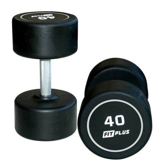 FIT PLUS Jednoručná činka 40 kg FPPRSFD40K