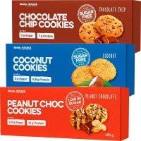 Body Attack Low Sugar Cookies, 125 g