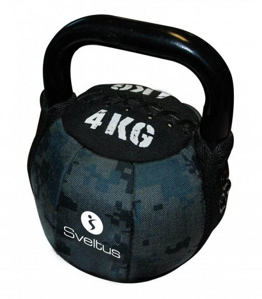 Sveltus Soft Kettlebell, 4 kg