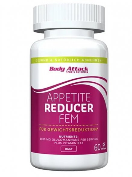 Body Attack Apetite Reducer FEM, 60 kps