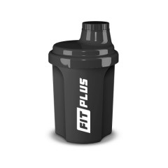 Shaker FIT PLUS čierny, 300 ml