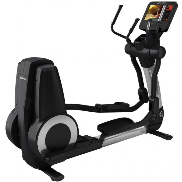 Eliptical Life Fitness Platinum Club Series Discover SE3HD Silver