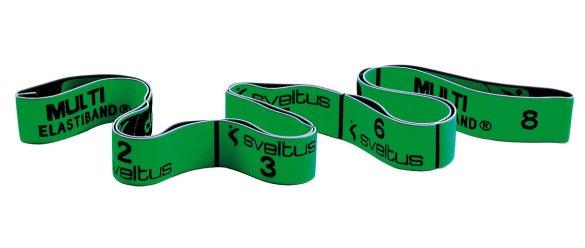 Sveltus Elastiband, zelený 110cm, 10kg, odporová guma na cvičenie