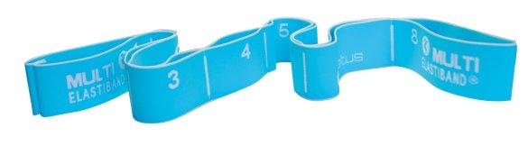 Sveltus Elastiband svetlo modrý 110cm, 20kg, odporová guma na cvičenie