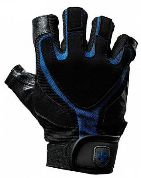 Harbinger rukavice Training Grip, pánske, black/blue M
