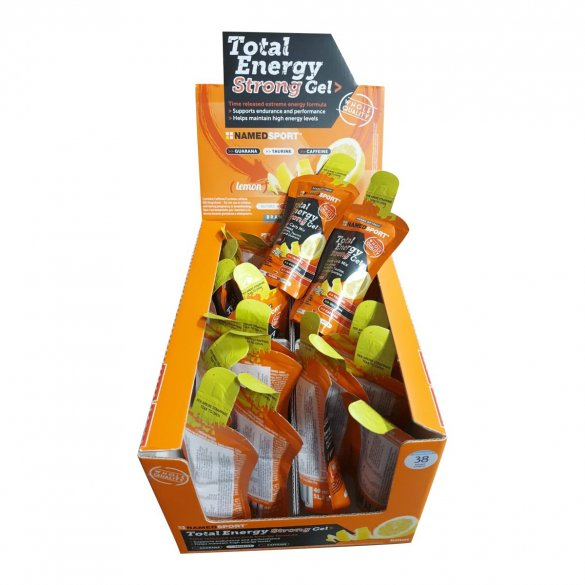 Named Sport Total Energy Strong Gel, 40 ml, lemon, 24ks