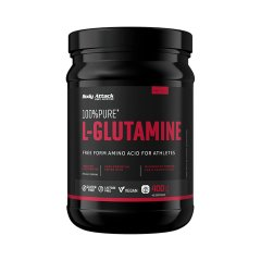 Body Attack 100% Pure L-Glutamine, 400 g
