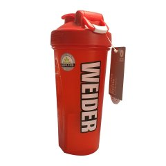 Weider Shaker blender bottle, 600ml, červený