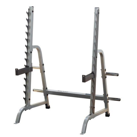 Body Solid GPR370, multipress stojan na drepy a tlaky