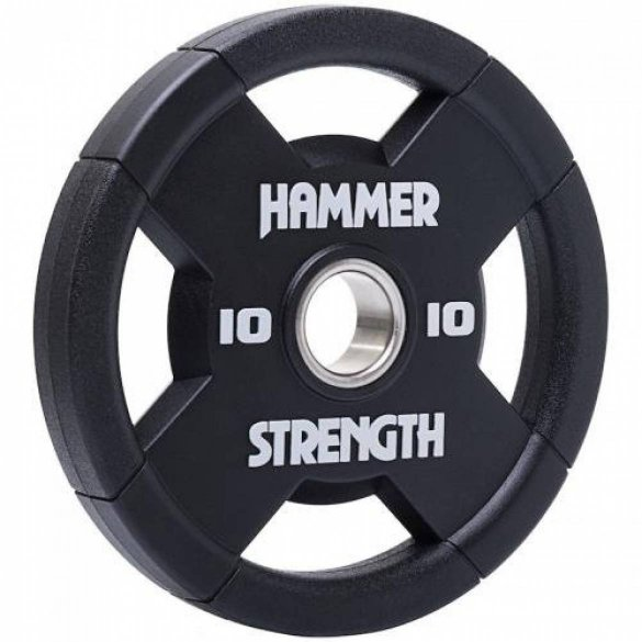 Hammer Strength Urethane, olympijský kotúč 10 kg