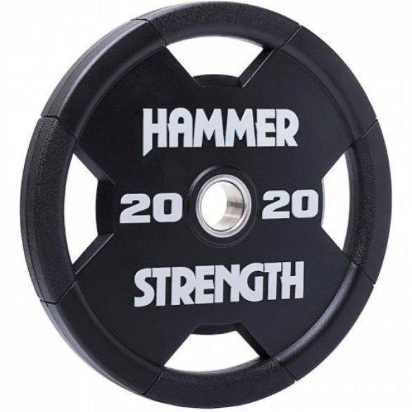 Hammer Strength Urethane, olympijský kotúč 20 kg