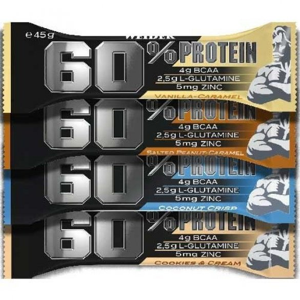 Weider 60% Protein Bar, 45 g milk chocolate
