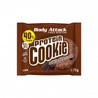 Body Attack Protein Cookie, 75 g Double chocolate chip