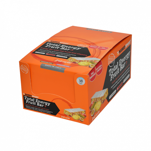 Named Sport Total Energy Fruit Bar, Fruit Caribe fitplus